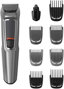 Philips 9-in-1 All-In-One Trimmer, Series 3000 Grooming Kit for Beard & Hair Trimmer with 9 Attachments £17.99 @ Amazon (+£4.49 non-prime)