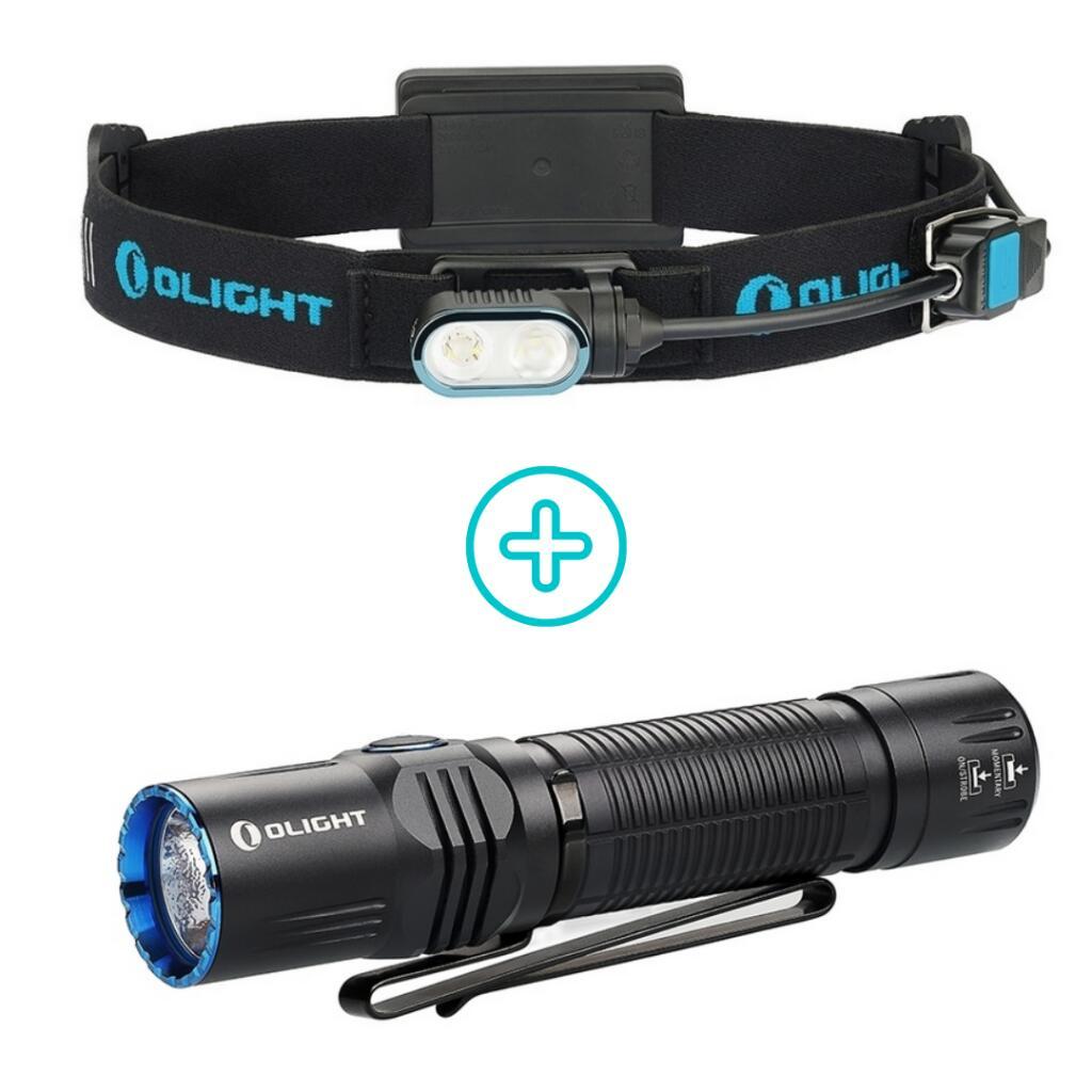 Olight Array rechargable LED camping & jogging head light bundle for £80.94 @ Olight