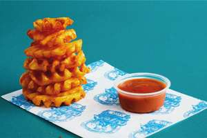 Free Portion of Baked Fries from Leon - O2 Priority