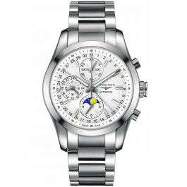 Longines Mens Conquest Classic Moonphase Chronograph £1,895 at TH Baker