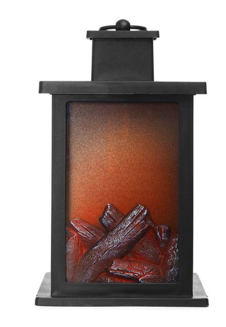 Robert Dyas JML Flame LED Christmas Fireplace Lantern Light with Flame Effect £4.50