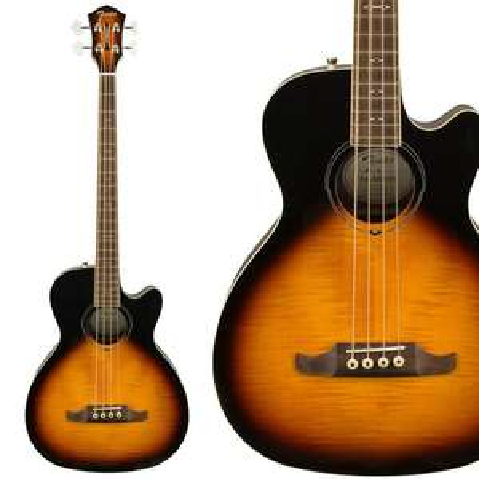 Fender FA-450CE Acoustic Bass Guitar - 3 Tone Sunburst Finish - £283.20 Delivered @ Guitar Village
