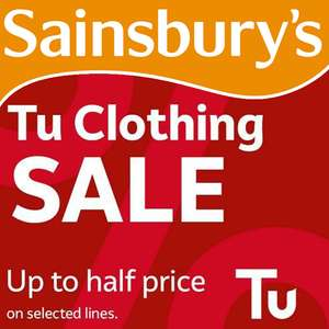 Tu Clothing - Up To 50% Off Sale @ Sainsbury's