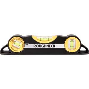 Roughneck Magnetic Torpedo Spirit Level 225mm £8.32 @ Toolstation (Free Collection)