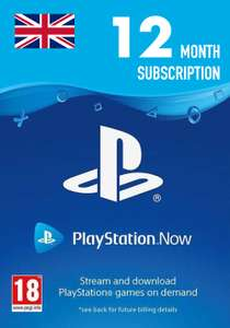 Playstation Now 12 Month Subscription (UK) £33.12 inc. VAT @ Instant Gaming
