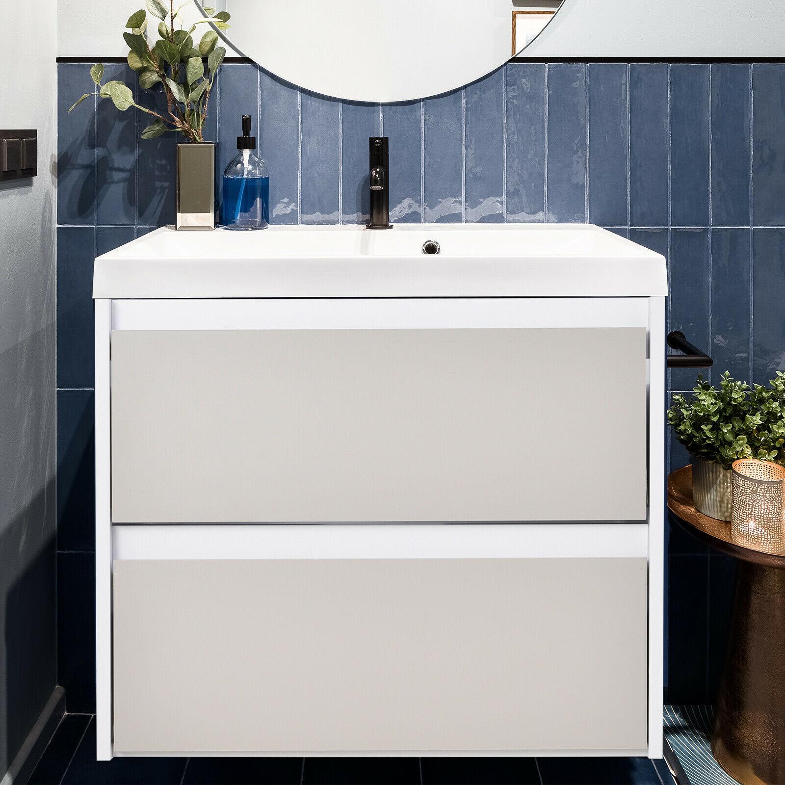 Kleankin 2 Drawer Hanging Bathroom Cabinet £9.99 delivered @ 2011homcom/ebay