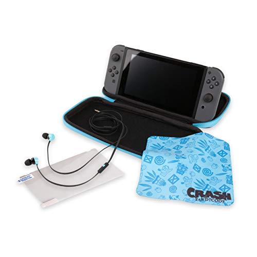 Nintendo Switch Crash Bandicoot Case, Screen Protector and Earphones £6.99 @ Amazon