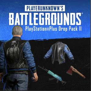 PUBG - PlayStation Plus Drop Pack II (PS4) - Free @ PlayStation Store For PS+ Subscribers