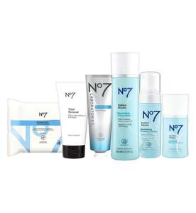 Black Friday Offer! Online Only No7 Cleansed & Radiant Collection £25 + £1.50 C&C at Boots