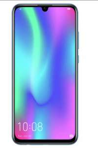 SIM Free HONOR 10 Lite 64GB Mobile Phone - Sapphire Blue / Black Smartphone - £99.95 Free Collection @ Argos