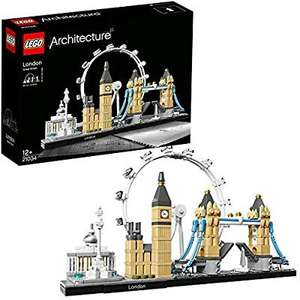 LEGO 21034 Architecture London Building Set £27.70 (£26.68 fee free card) delivered @ Amazon France