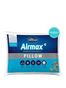 SilentnightDual Layer Airmax Pillow £9 + £3.99 delivered @Very