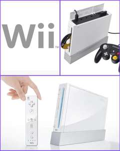 Nintendo Wii Console, White (no game). Also backwards compatible with GameCube. Pre-owned with 2 Year Warranty £35 at CeX