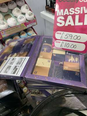 Ciate mini mani advent calendar £10 instore @ Beauty Outlet Hull