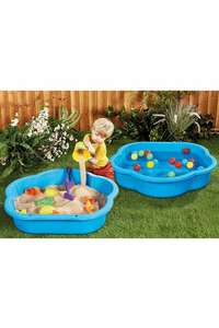 Plastic Sand/Water Ball Pit and Skittles Set £14.99 + £4.99 delivery @ Studio