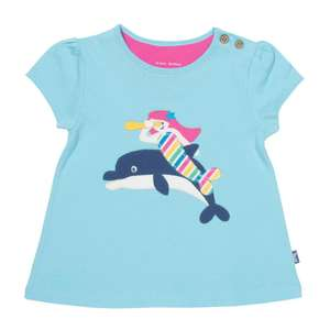 50% off children's t-shirts @ Royal Museums Greenwich e.g Organic Cotton Mermaid Top £9 + £4.95 delivery