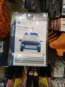 Windscreen cover for car frost - £1 @ Poundland (Croydon)