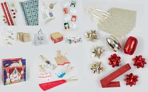 Get 3 for the price of 2 CHRISTMAS CARDS, BAGS & WRAP @ Matalan