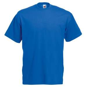 Fruit of the Loom Men's Short Sleeve T-Shirt - £3.49 @ Amazon / Dispatched from and sold by NGWorld.