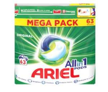 Ariel pods 63 wash £9.49 at savers in West Midlands
