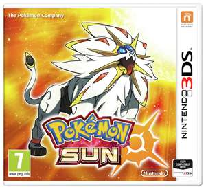 Pokemon Sun & Pokemon Moon (and Ultra Moon) For 3DS £14.99 at Argos (Click & Collect)