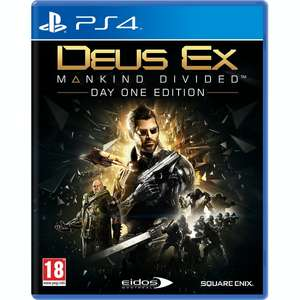 Deus Ex Mankind Divided Day One Edition Playststion 4 £4.72 at 365games.co.uk