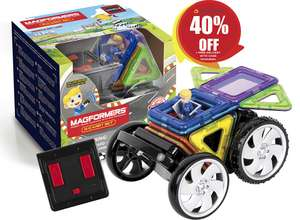 Magformers WOW House Set £23.99 / Magformers Rally Kart Remote Control Set £23.99 + FREE UK Mainland delivery @ Stick-O Magformers