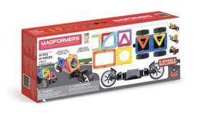 Magformers 41 Piece Amazing Wheels Magnetic Building Set £35.89 @ Costco