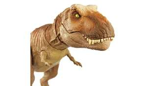 Jurassic World Epic Roarin' Tyrannosaurus Rex for £25 with click and collect (or +£3.95 delivery) @ Argos
