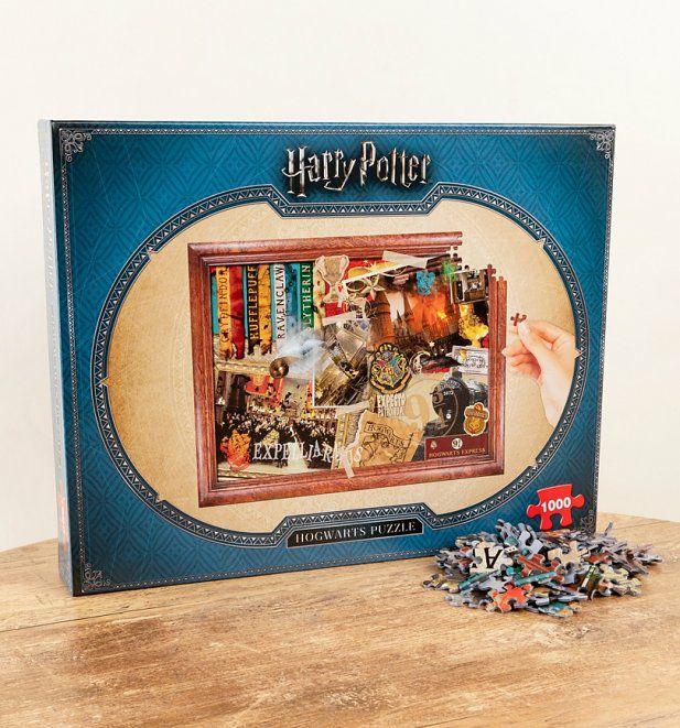 Hogwarts jigsaw £14.34 delivered @ Truffle Shuffle