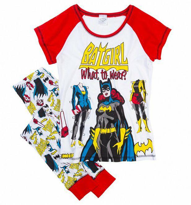 Women's Batgirl What To Wear DC Comics Pyjamas £12.79 +£3.95 delivery @ Truffle Shuffle
