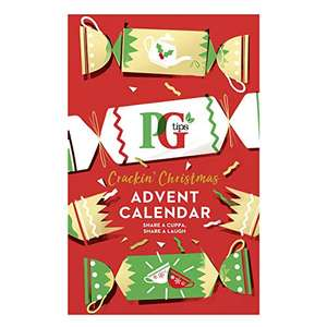 PG Tips Advent Calendar for Tea lovers, 8 Tea Variations, Gift Idea for Him and Her, 48 Tea Bags £9.90 (+£4.49 non-prime) @ Amazon