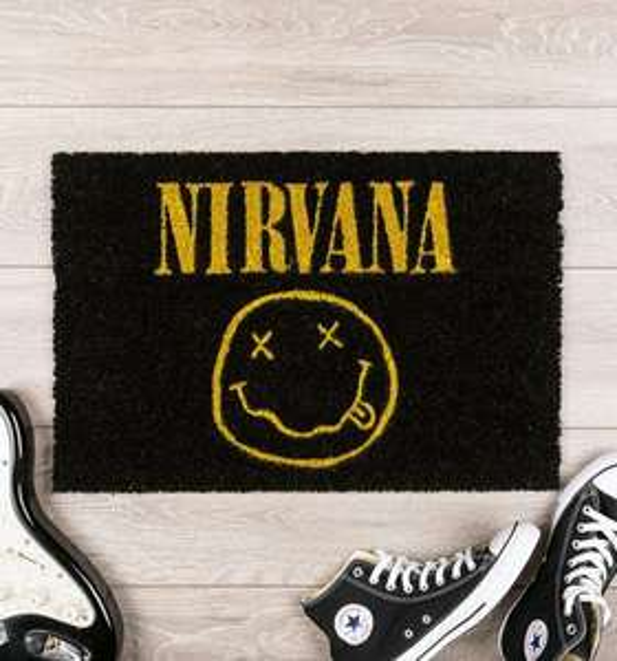 Nirvana Smiley Door Mat £11.99 (£3.95 Delivery) @ Truffle Shuffle