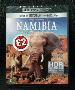 Namibia: The Spirit of the Wilderness 4K Blu-ray @ Poundland Barnsley Town Centre