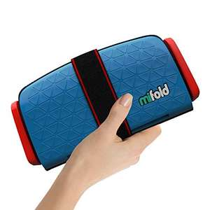 Mifold the grab-and-go car booster seat group 2/3, Denim Blue £21.99 @ Amazon