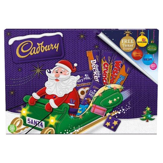 Cadbury Selection Box : Santa 150G / Freddo 135G Christmas Selection Box 150.5G/ M&Ms & Friends Peanut Chocolate £1 @ Tesco