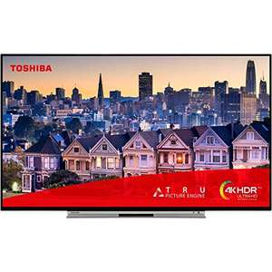 Toshiba 49UL5A63DB 49-Inch Smart 4K Ultra-HD HDR LED WiFi TV with Freeview Play £289.99 delivered at Amazon