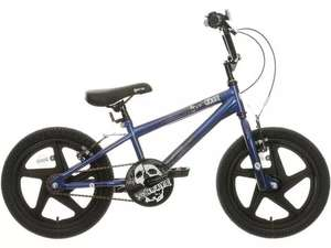 """X-Rated Shockwave Kids BMX Bike - 16"""" (20% off kids bikes Halfords + free gift bag) - £100 + free Click and Collect"""