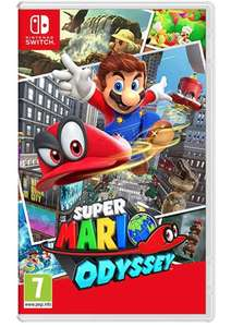 Super Mario Odyssey Nintendo Switch Game £39.99 @ Argos Free click nd collect