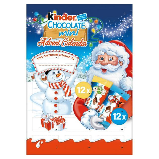 Kinder Chocolate Advent Calendar 135g £3 at Sainsbury's