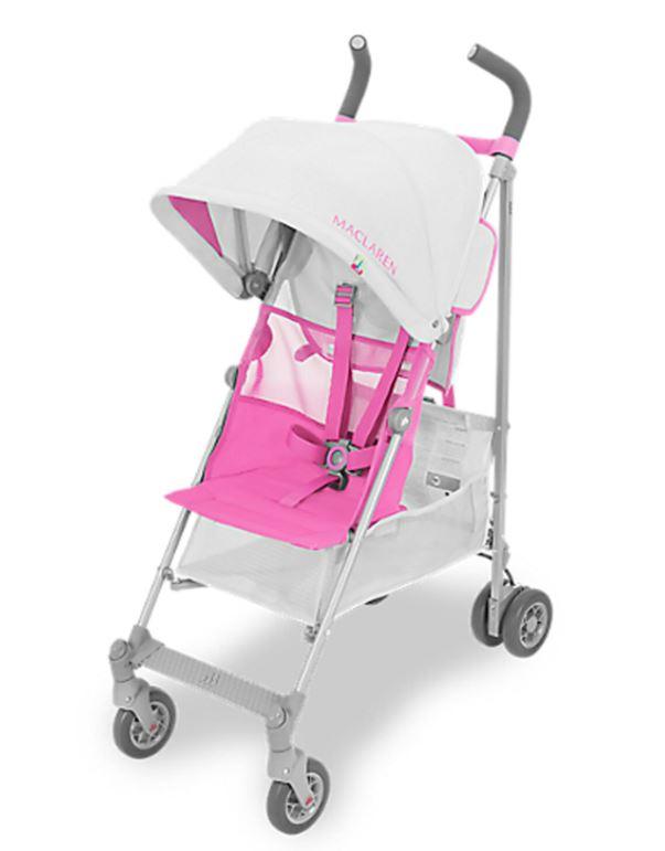 TK Maxx - Various Maclaren strollers & accessories e.g. MACLAREN Silver & Azalea Volo Stroller £79.99