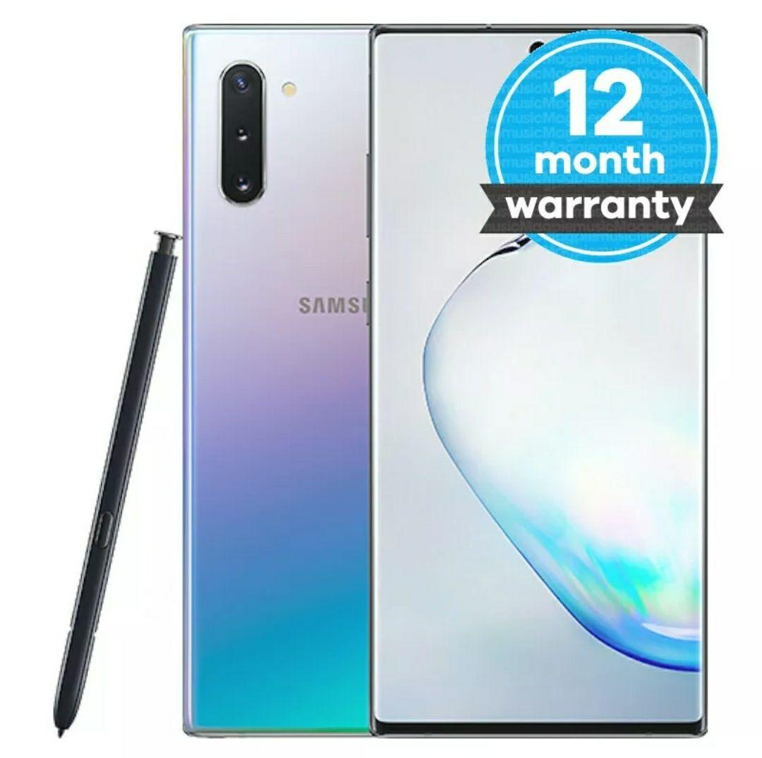 Samsung galaxy note 10 256gb Aura Glow Pristine Condition £426.41 @musicmagpie/ebay