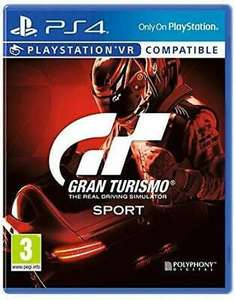 Gran Turismo Sport PS4 New Sealed £10.49 delivered at ebay uk-tech-spares