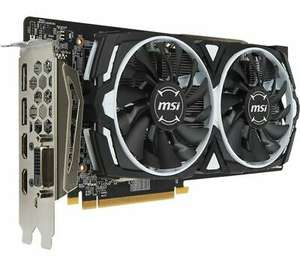 MSI Radeon RX 580 8GB Armor OC Graphics Card, £138 at Currys/ebay with code