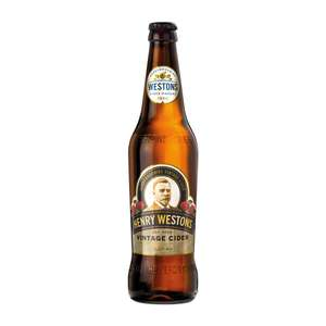 Henry Westons British / Signature Vintage Cider (6.8% / 7.2%) 500ml bottles 99p instore @ Home Bargains (also brothers strawberry lime 69p)
