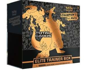 Pokemon - Sword & Shield - Champions Path - Elite Trainer Box - £84.95 @ Total Cards