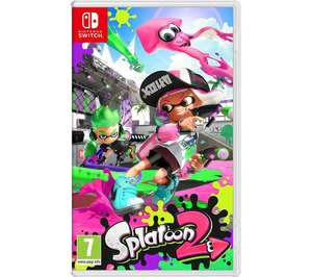 Splatoon 2 (Nintendo Switch) £34.99 with code @ Currys