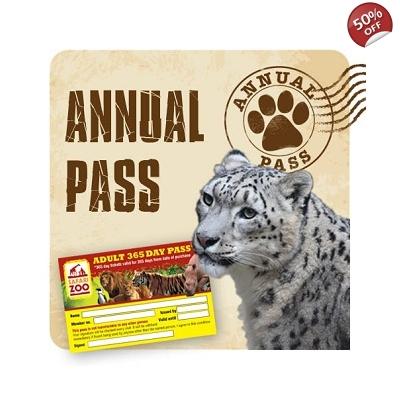 South Lakes Safari Zoo Annual Pass Half-price - £31.99 delivered @ Safari Zoo