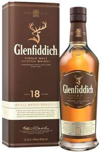 Glenfiddich 18 Year Old Single Malt Scotch Whisky with Gift Box 70cl - £59.94 @ Amazon