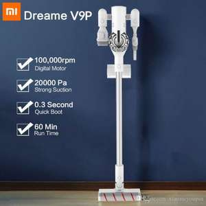 Xiaomi Dreame V9P Vacuum Cleaner Handheld (120 AW - wireless charging ) - £103.36 delivered from EU (with code) @ DHgate / MC Youpin